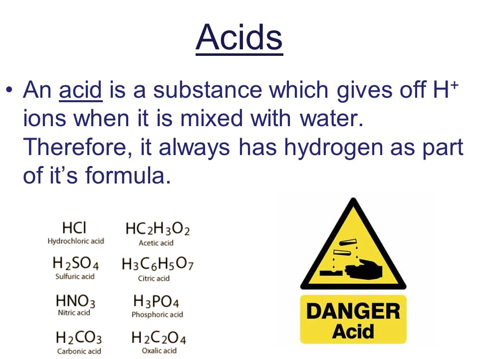 Chapter 22: Acids, Bases, and Salts - ppt video online download