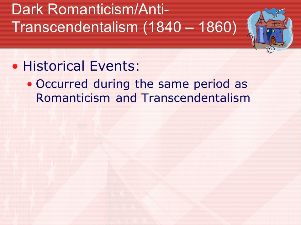 anti transcendentalist songs