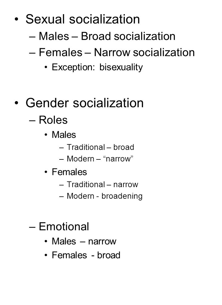 Sexual socialization refers to