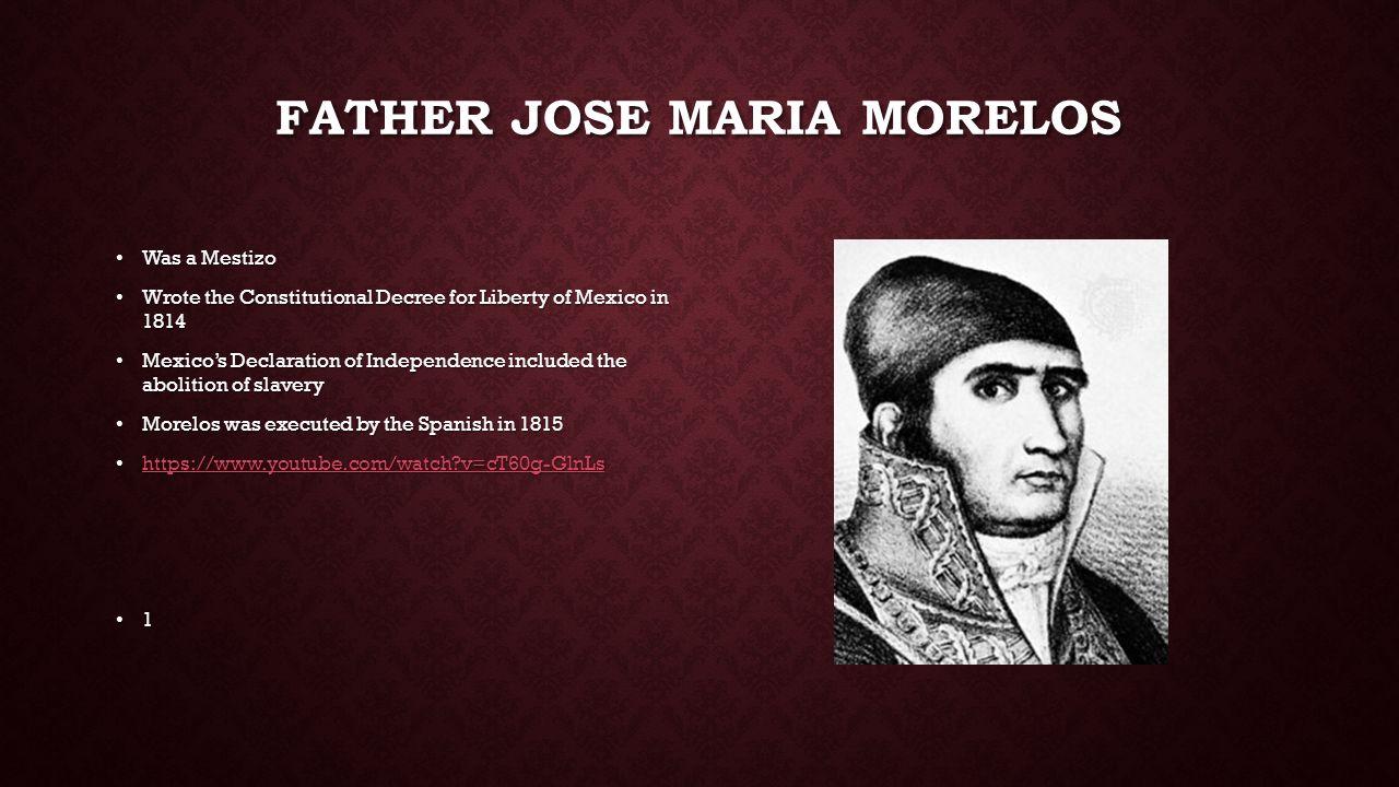father jose morelos