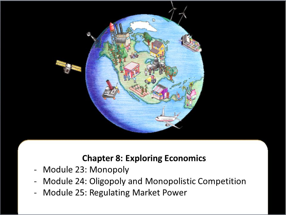Chapter 8: Exploring Economics