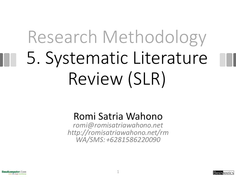 types of literature review in research methodology The purpose of your review of the literature was to set the stage for your own research therefore, you should conclude the review with a statement of your hypothesis, or focused research question when this is done, you are ready to proceed with part three of your research report, in which you explain the methods you used.