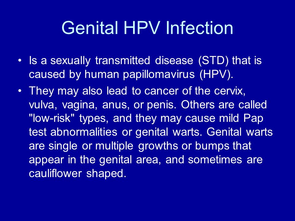 What Sexually Transmitted Diseases Cause Bumps
