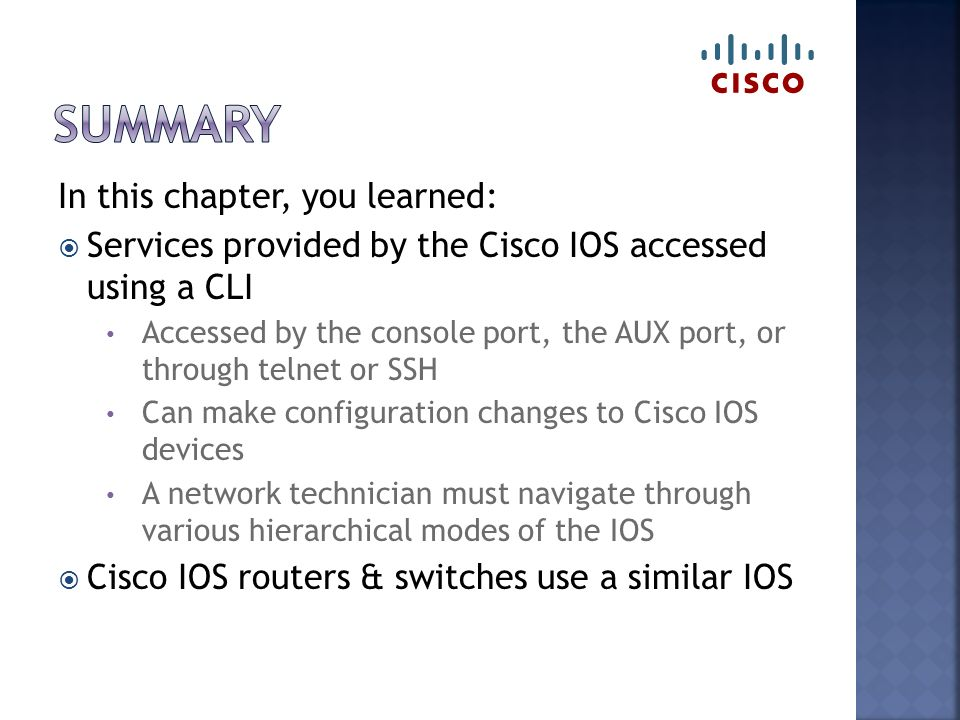 Configuring a network os - ppt video online download