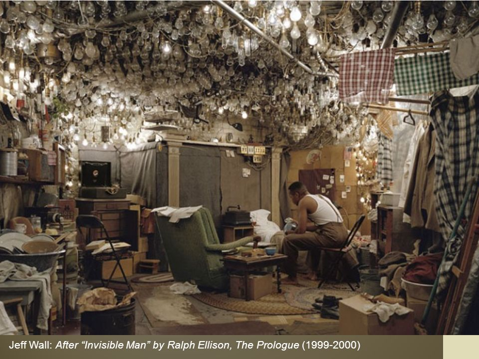 Jeff Wall: After Invisible Man by Ralph Ellison, The Prologue ( )