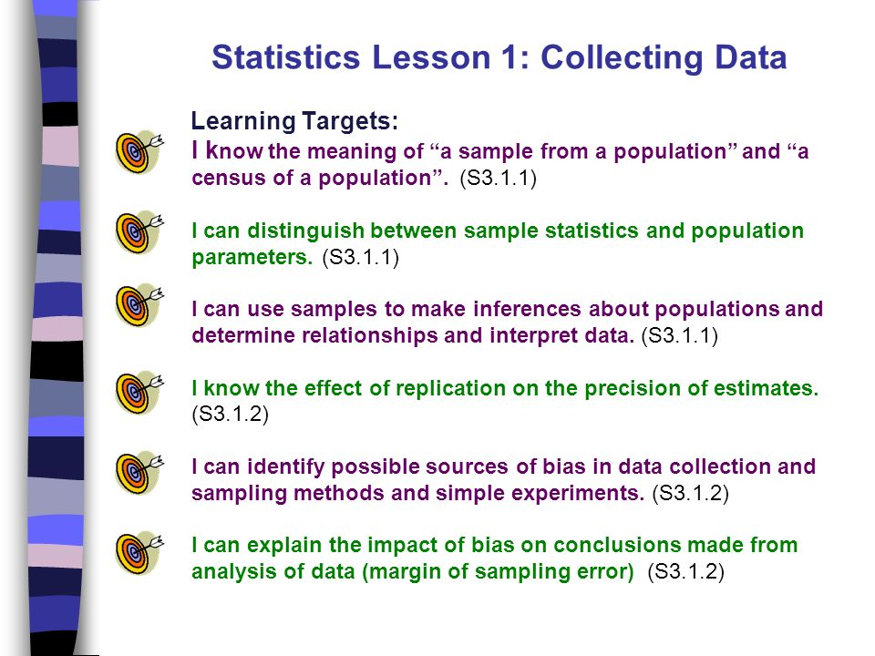 Lesson 1: collecting data ppt video online download.