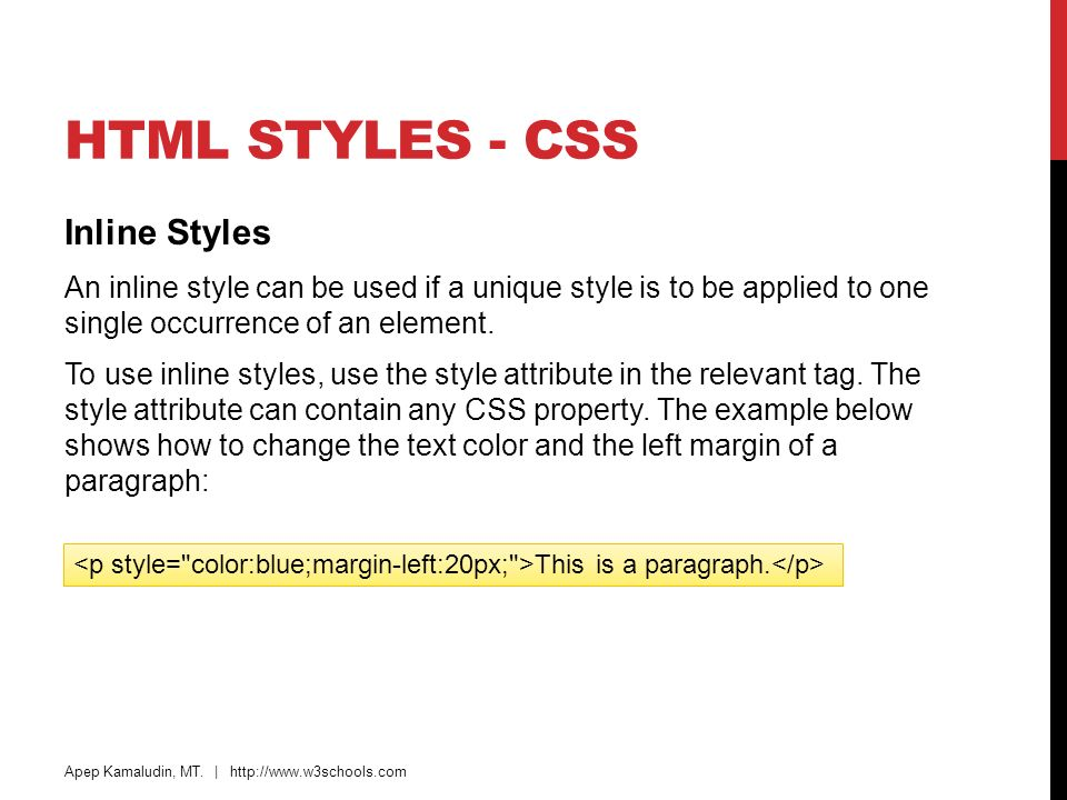 Headings, paragraphs, formatting, links, head, css, images ppt.