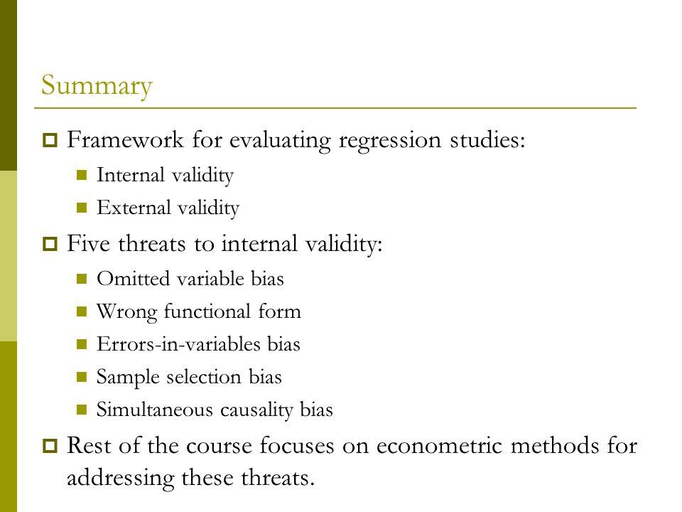 Assessing Studies Based On Multiple Regression Ppt Video Online