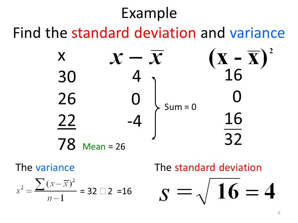 section 3 2 measures of variation range standard deviation variance ppt video online download. Black Bedroom Furniture Sets. Home Design Ideas
