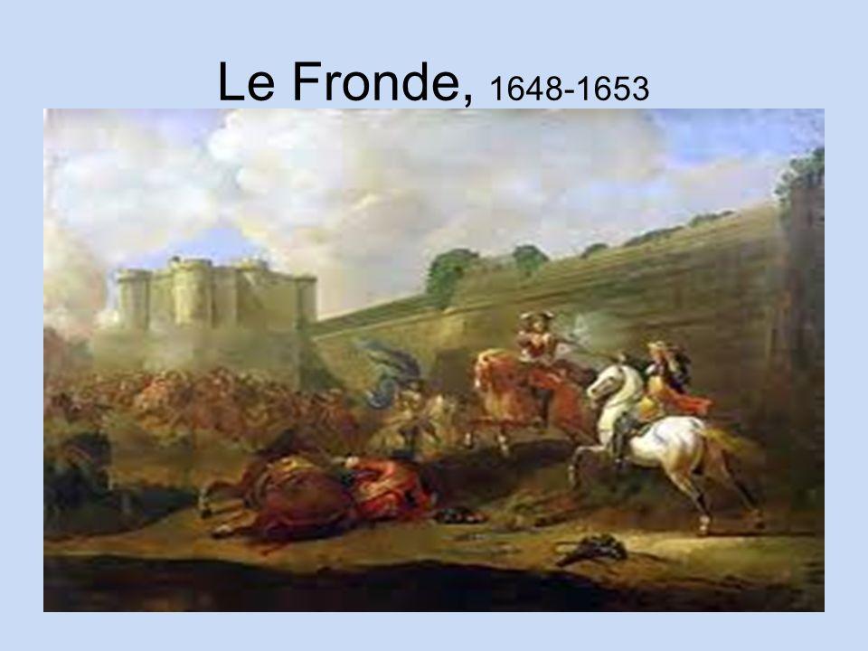 fronde revolt