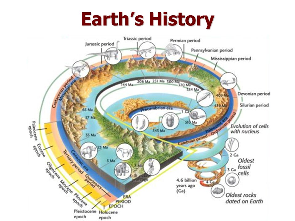 Earth history images