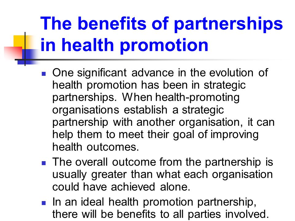 effective health promotion strategies