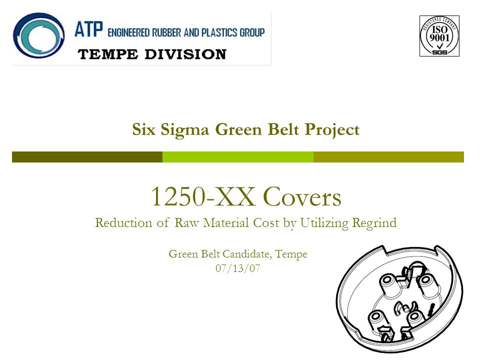 Six Sigma Green Belt Project - ppt download