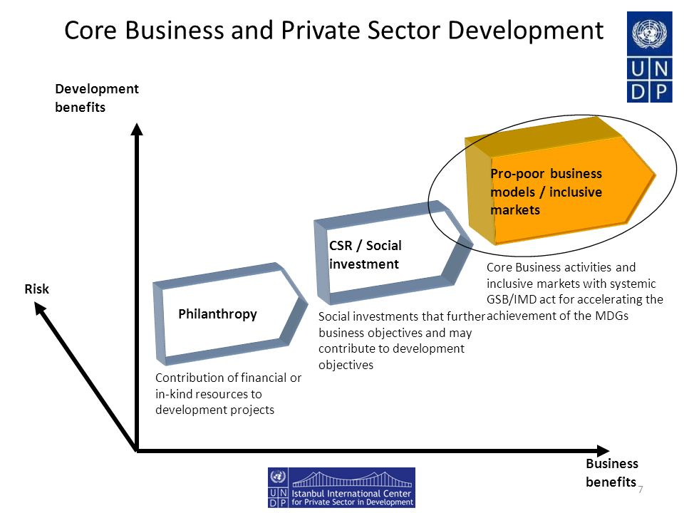 Core Business and Private Sector Development