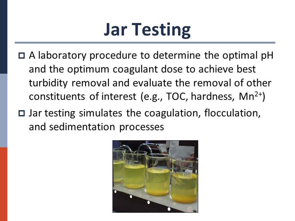 JAR TEST PROCEDURE EPUB