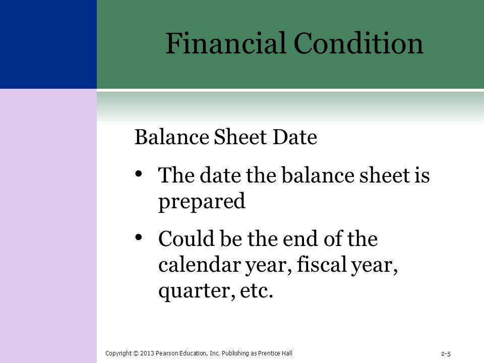 year to date balance sheet