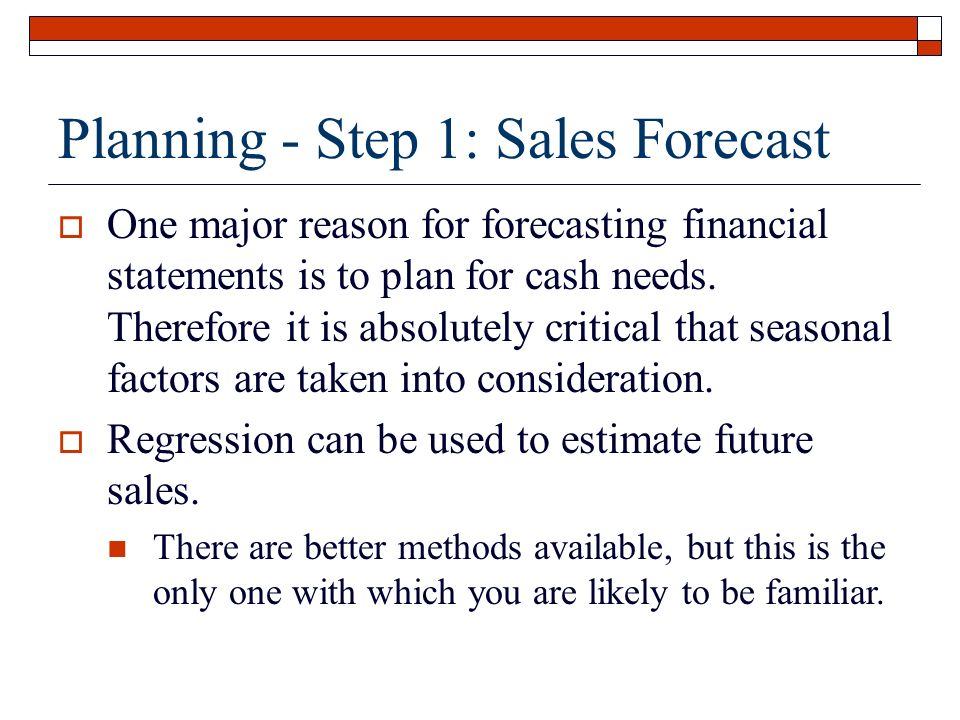Financial Statement Analysis *Financial Forecasting - ppt video