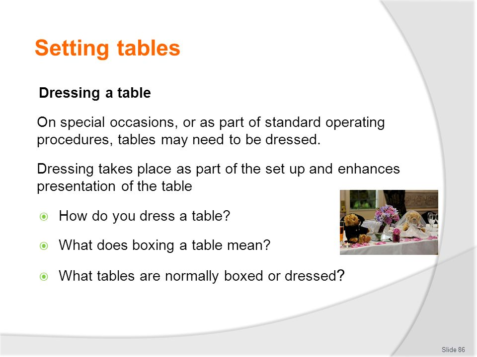 PROVIDE SILVER SERVICE - ppt download
