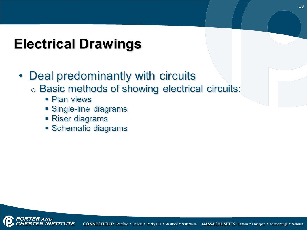 Hvacr116 Trade Skills Mechanical Drawings Ppt Video Online Download 380v Single Line Wiring Diagram 18 Electrical