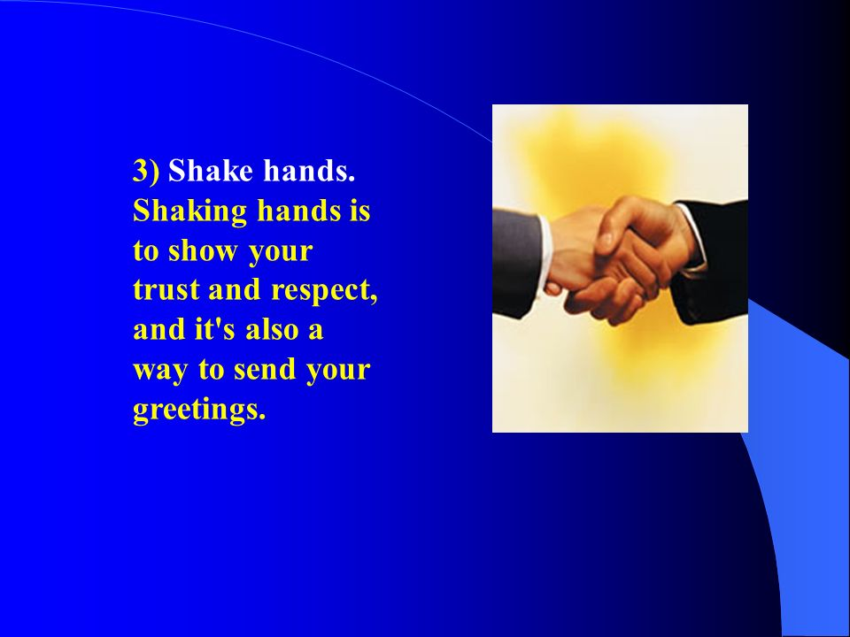 Chapter 6 business etiquette and social customs ppt download 20 3 m4hsunfo