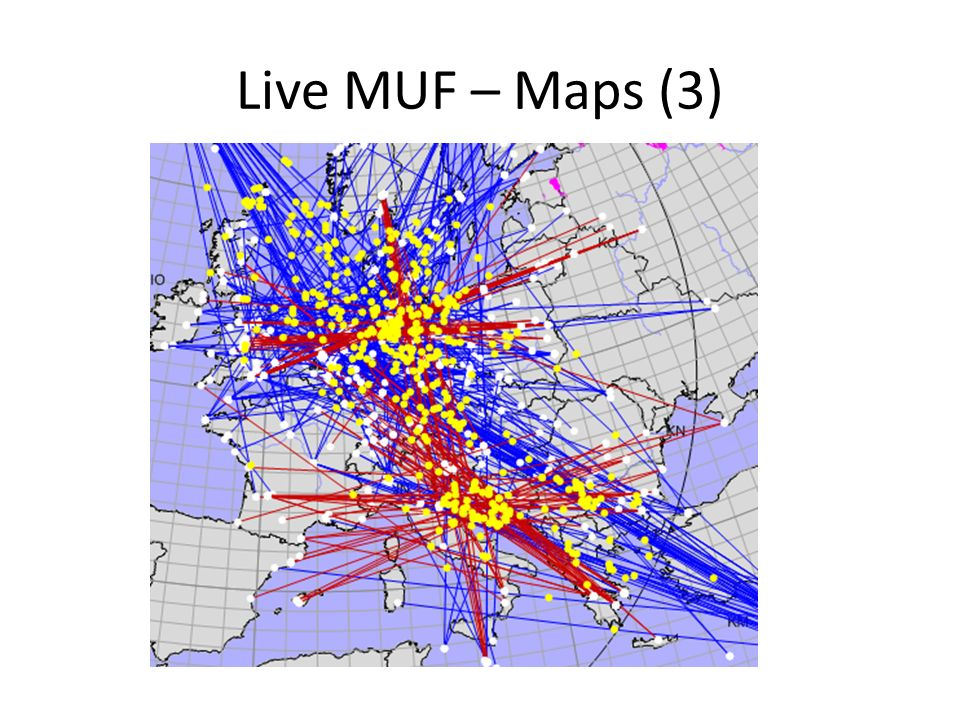 Live MUF – Maps (3) 3 hour activity same day 17th June 2003