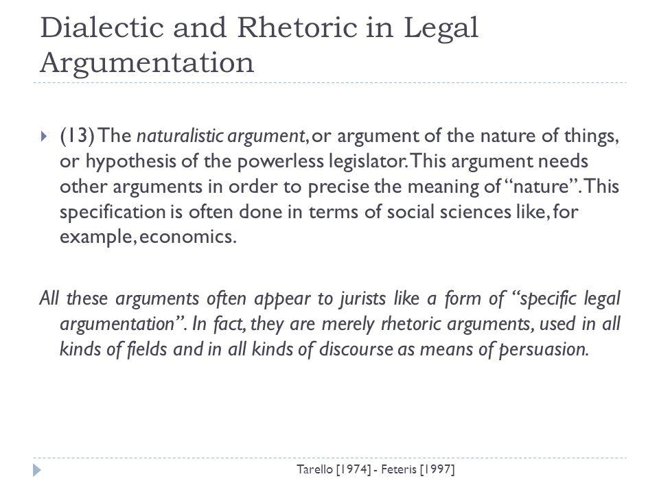 argumentative discourse example