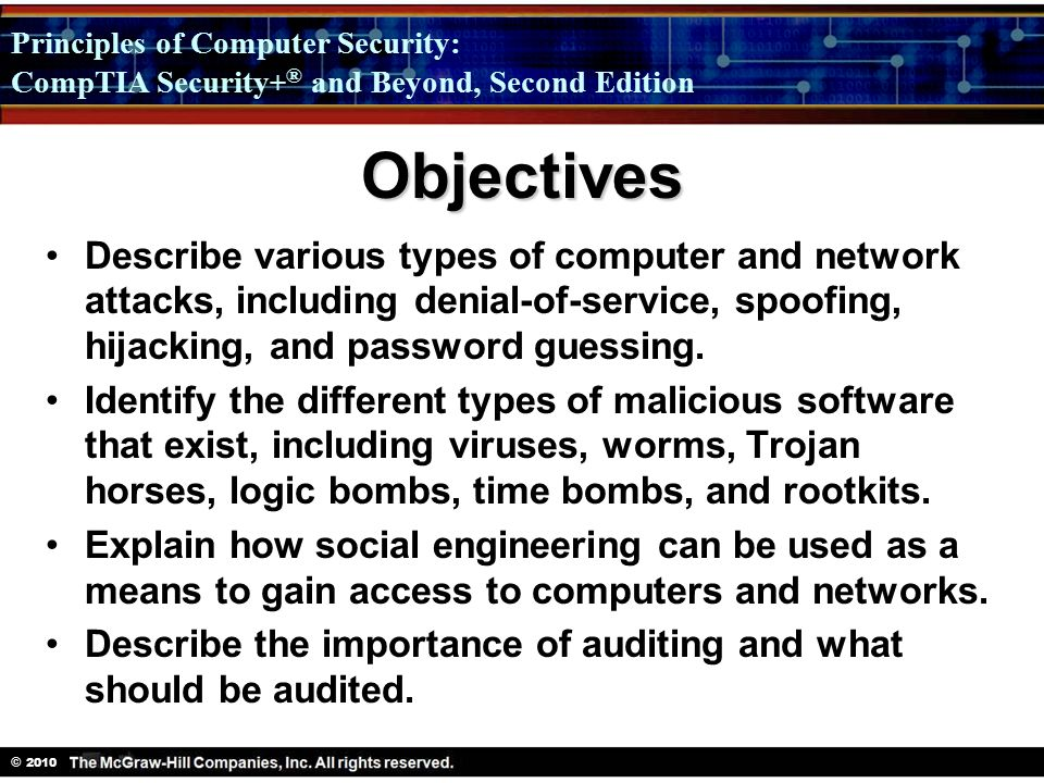 software attacks types