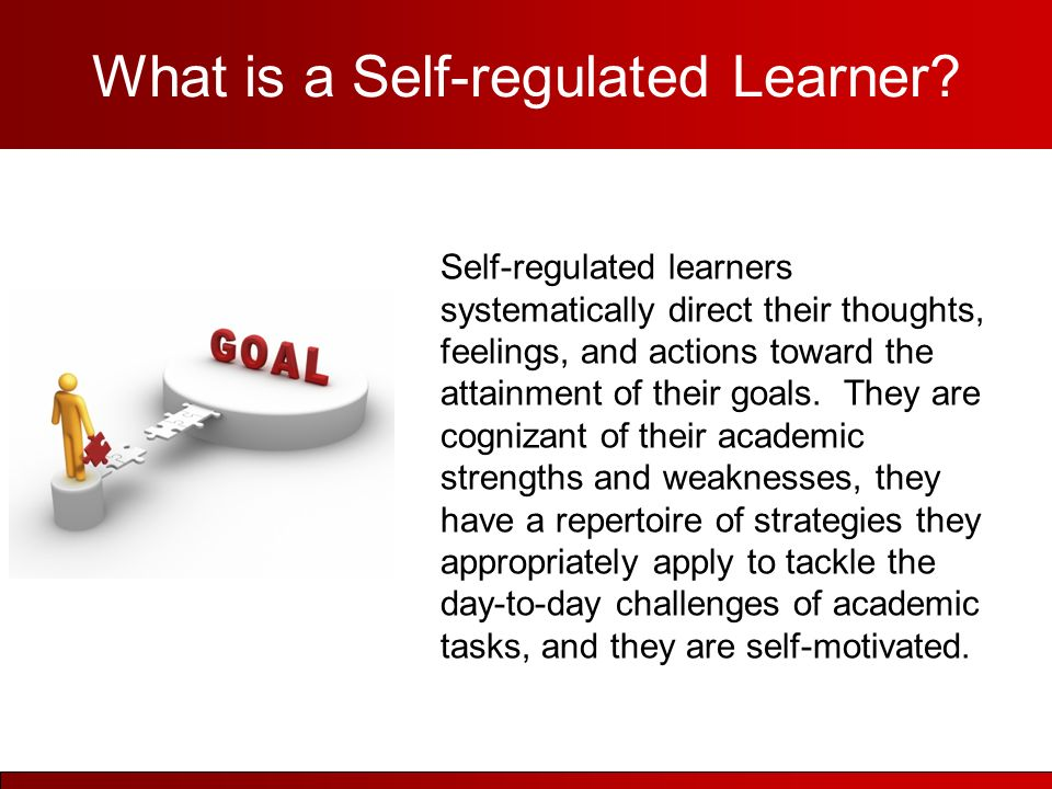 how to become a self regulated learner