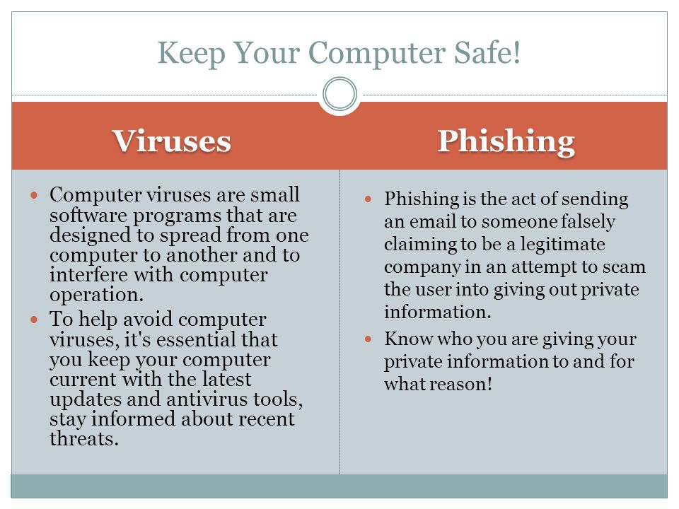 Keep Your Computer Safe!