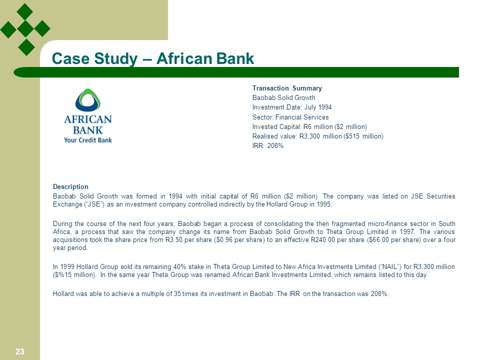 African bank investments limited batmasian amazing 5% investment loans