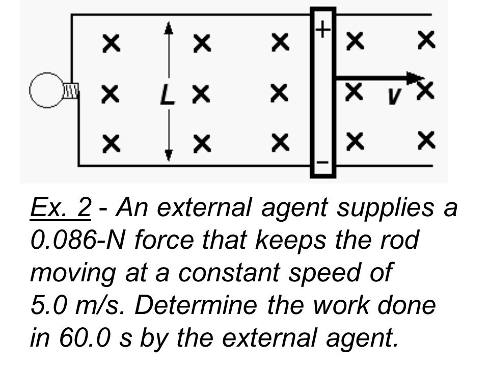 Ex. 2 - An external agent supplies a 0
