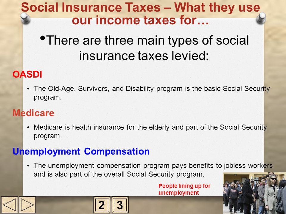 Social Insurance Taxes – What they use our income taxes for…