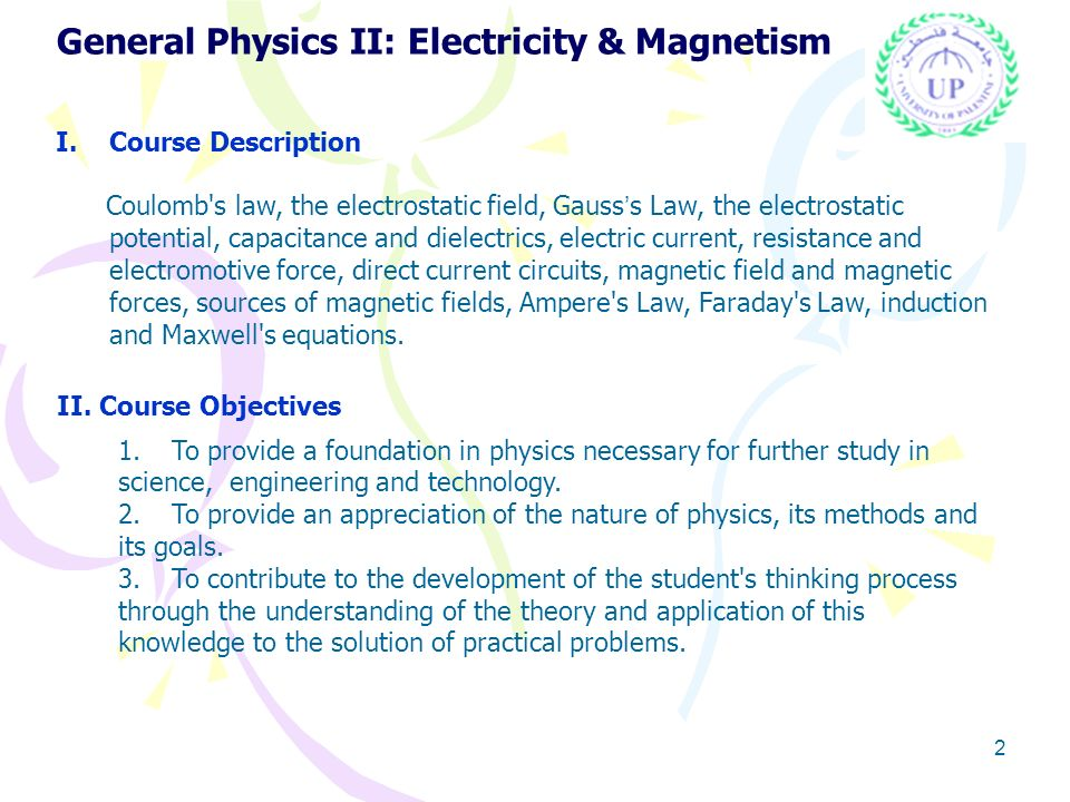 General physics ii electricity and magnetism ppt download 2 general malvernweather Gallery