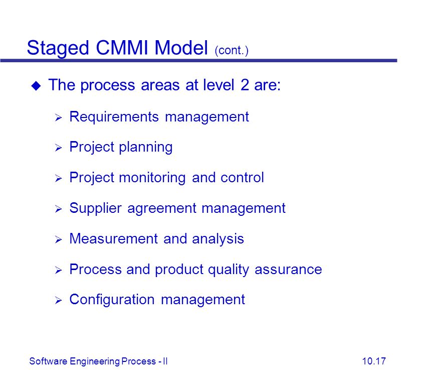 Integrated Capability Maturity Model Cmmi Ppt Video Online Download