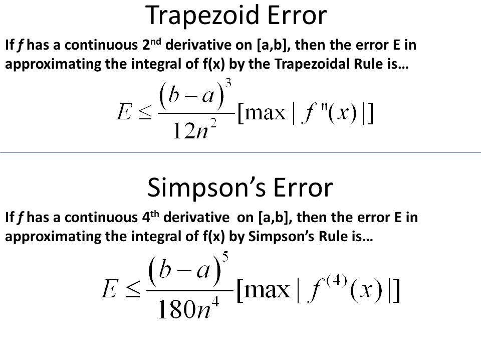 4. 6 numerical integration -trapezoidal rule -simpson's rule ppt.