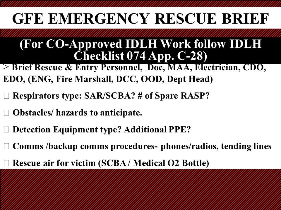 EMERGENCY RESCUE PROCEDURES Ppt Video Online Download