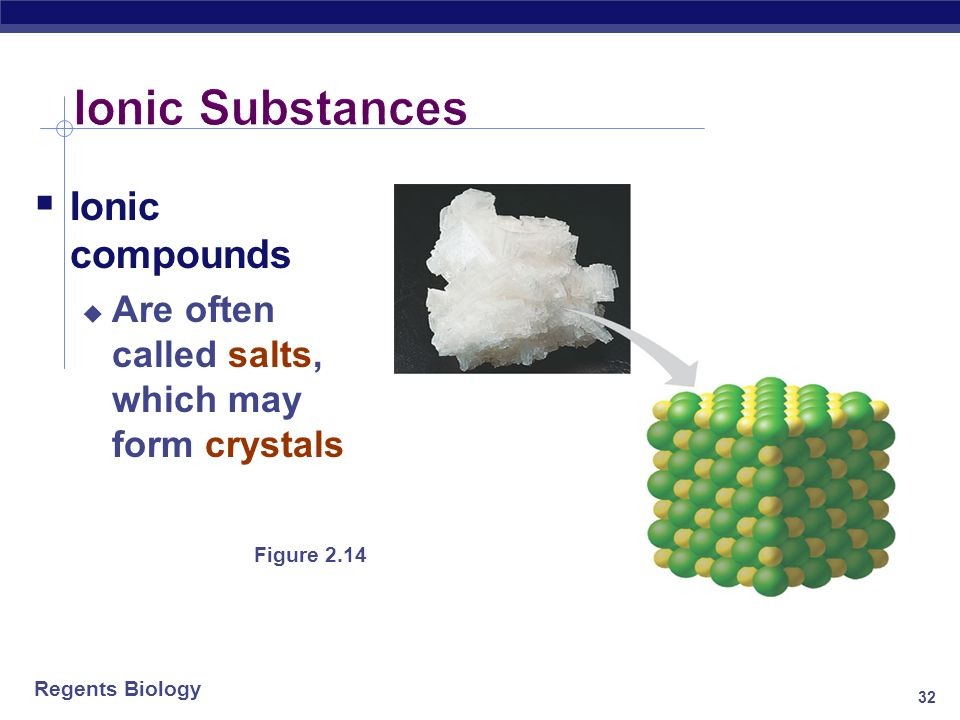 Ionic Substances Ionic compounds