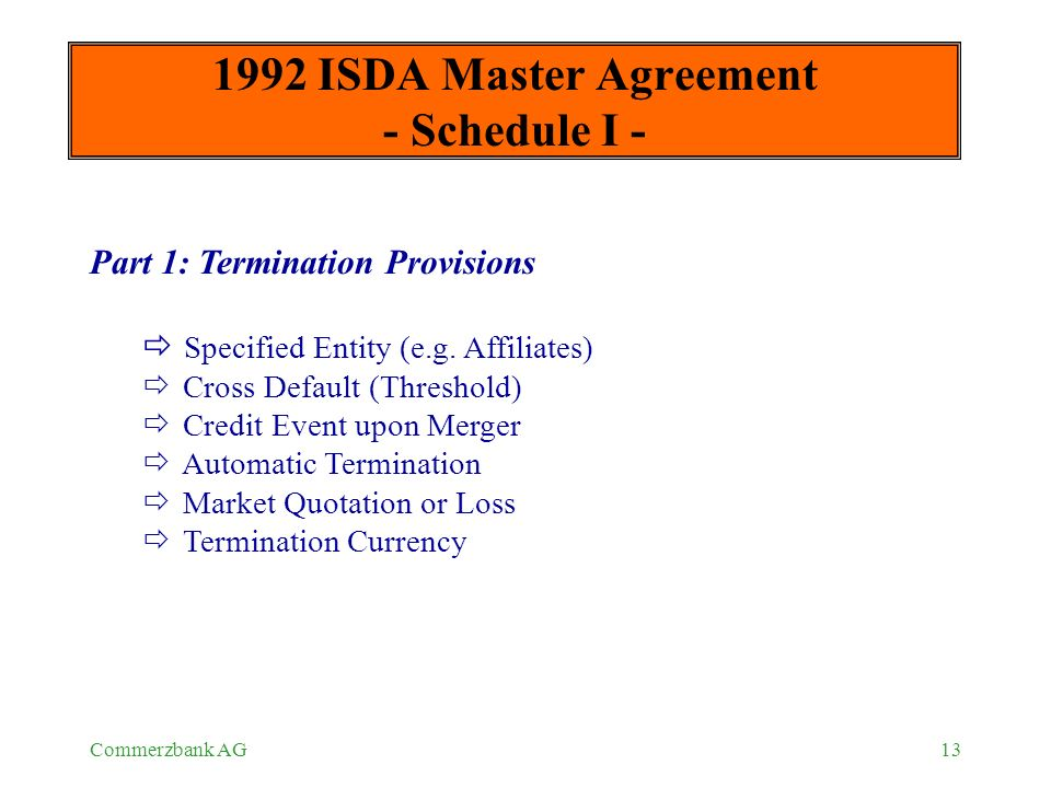 Otc Master Agreements Ppt Download