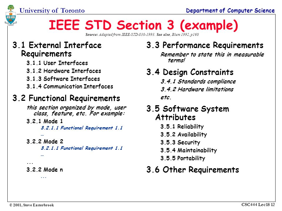 Lecture Specifications Ppt Video Online Download - How to write a software requirements document