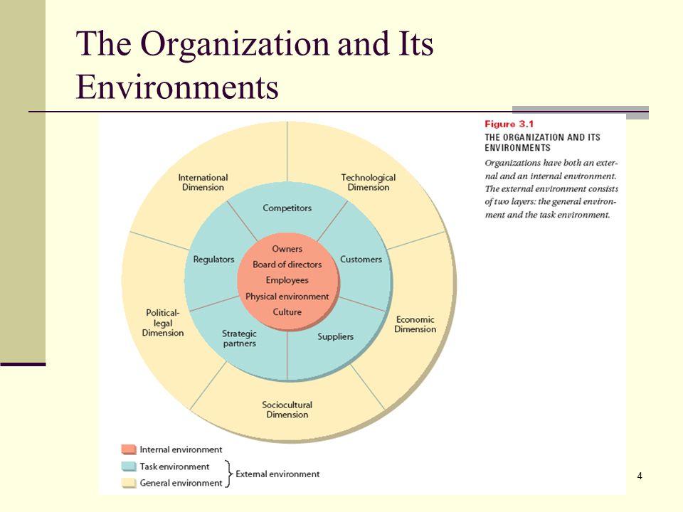 internal environment of an organization