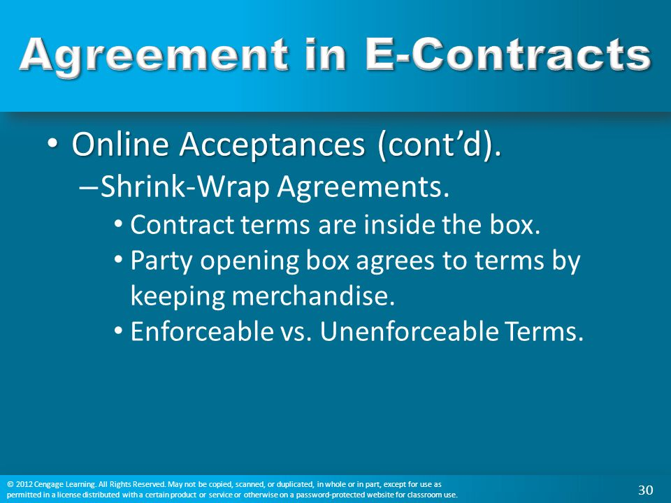 Chapter 10 Agreement In Traditional And E Contracts Ppt Video