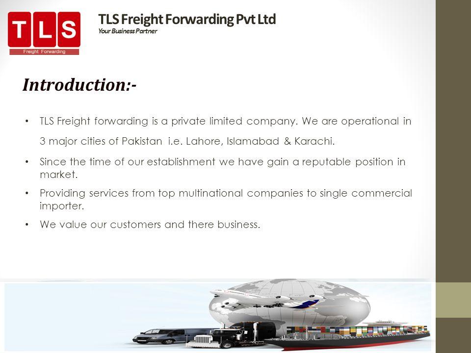 TLS Freight Forwarding Pvt Ltd Your Business Partner - ppt