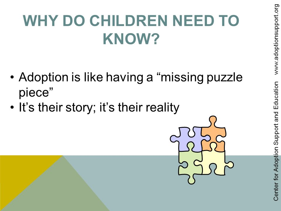 Talking with Children about Adoption - ppt video online download