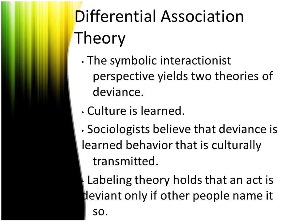 limitations theories sociology deviance Criticisms or major limitations of the labeling theory are: -doesn't explain why primary deviance occurs -it cannot explain repeated deviance by those who haven't been caught.