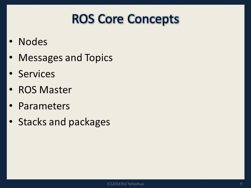 Multi-Robot Systems with ROS Lesson 1 - ppt video online download