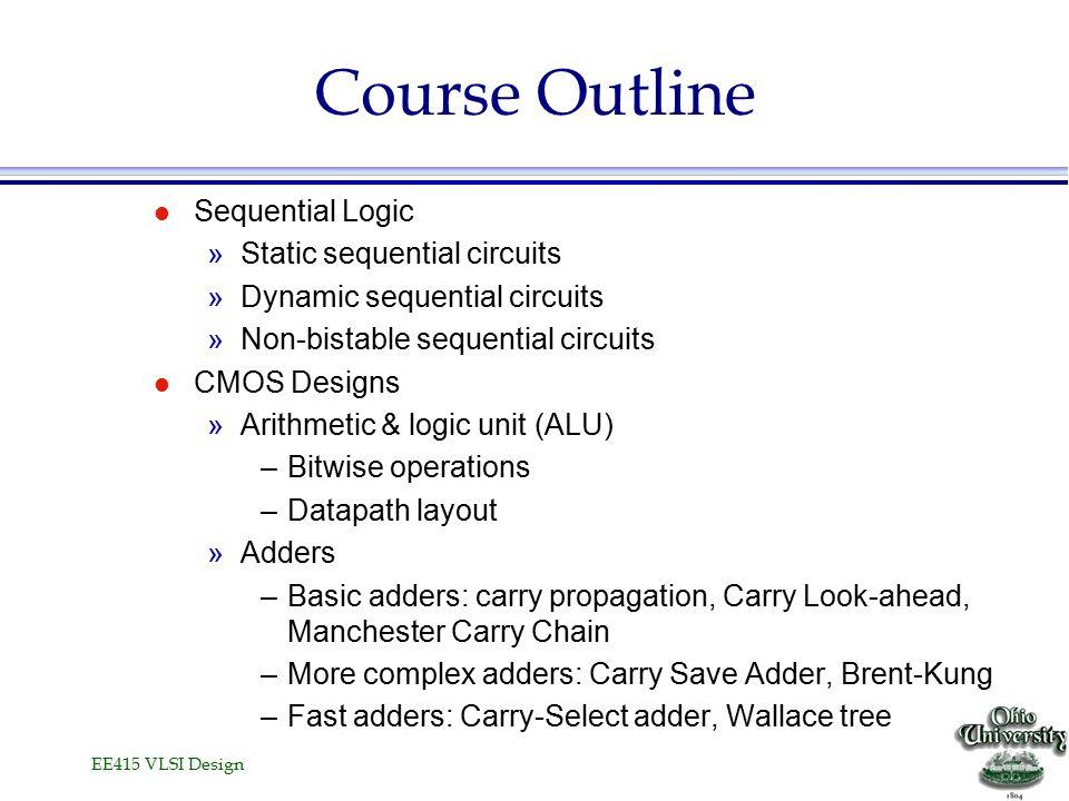 Introduction VLSI Design II - ppt video online download
