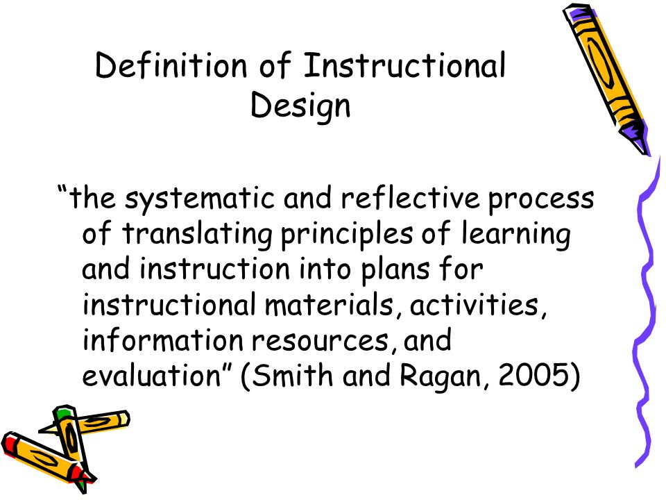 Instructional Design Deliverables Cbrne Crti Td 180 Ppt Video