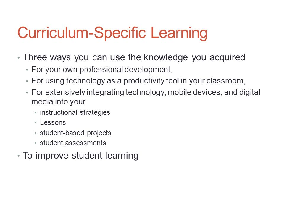 Integrating Educational Technology Into The Curriculum Ppt Video