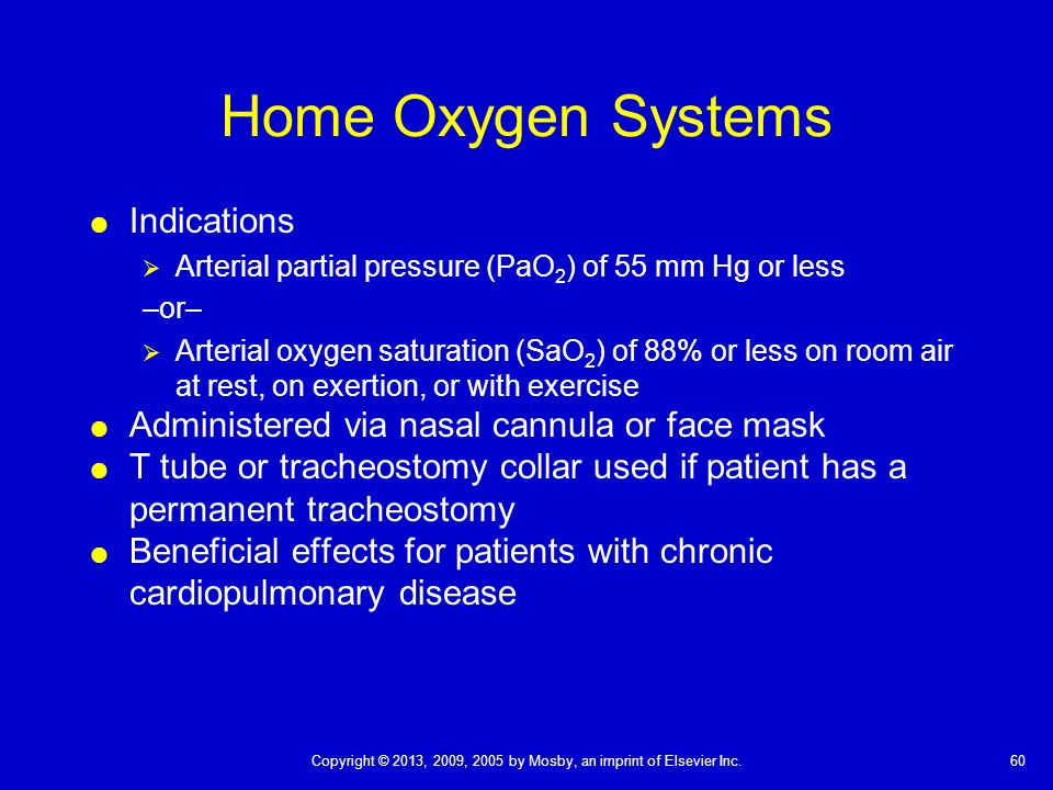 Chapter 40 Oxygenation Oxygen Is A Basic Human Need That
