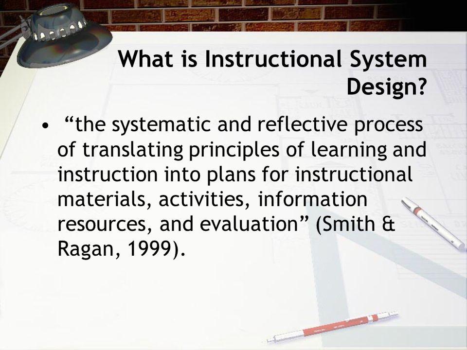Instructional System Design Ppt Download